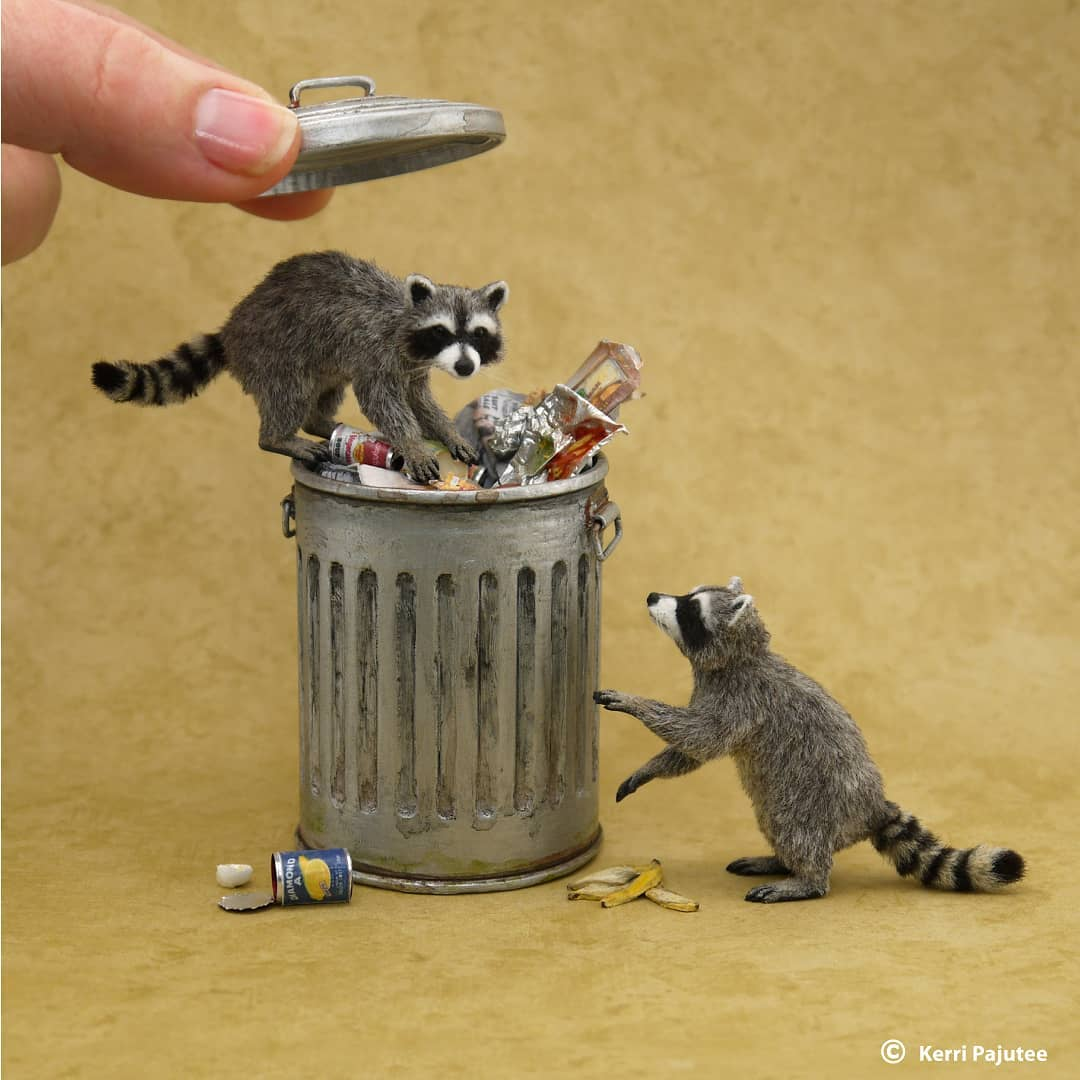 Incredibly Realistic Miniature Animal Sculptures