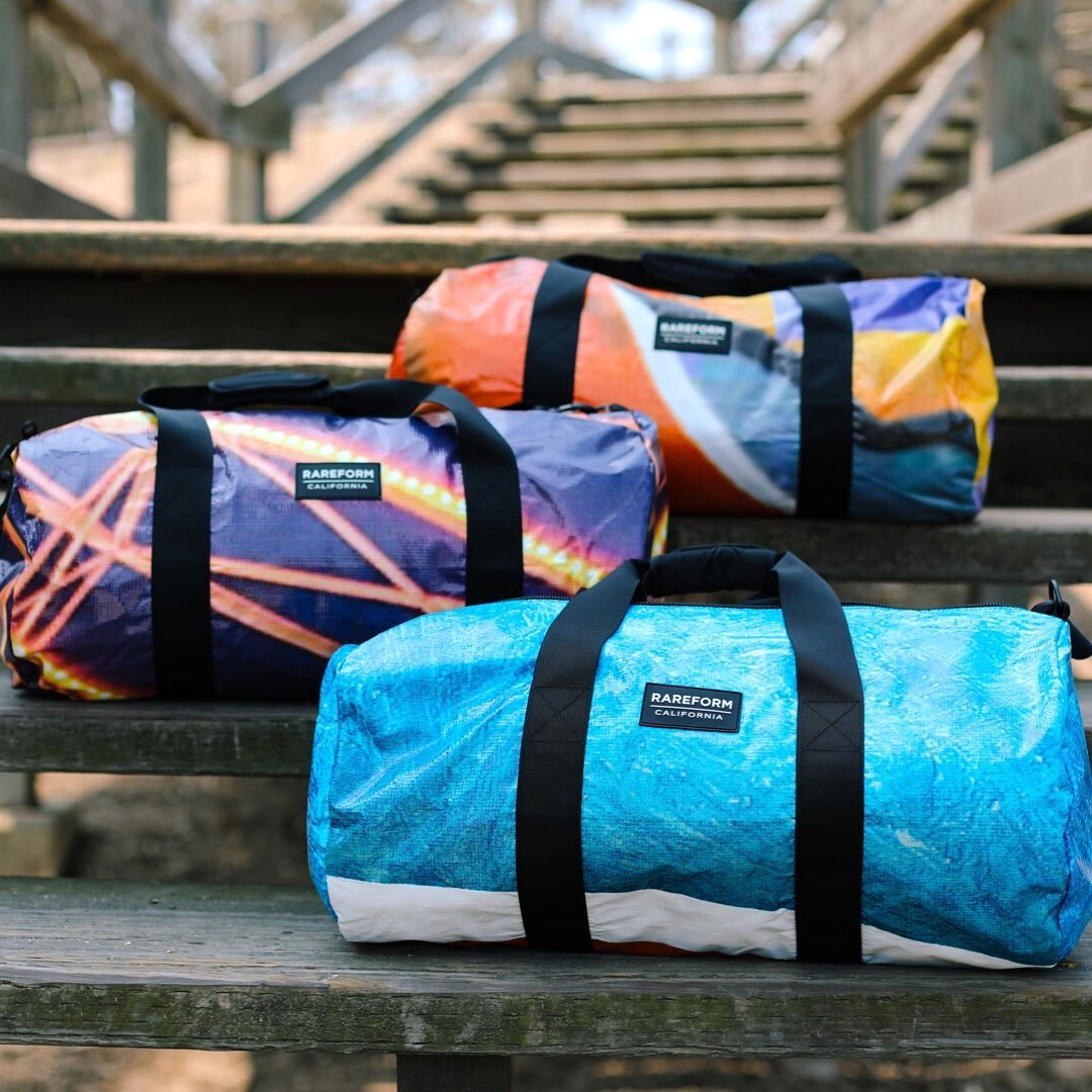 Colorful Bags, Backpacks and Wallets Made From Recycled and Repurposed Vinyl Billboards