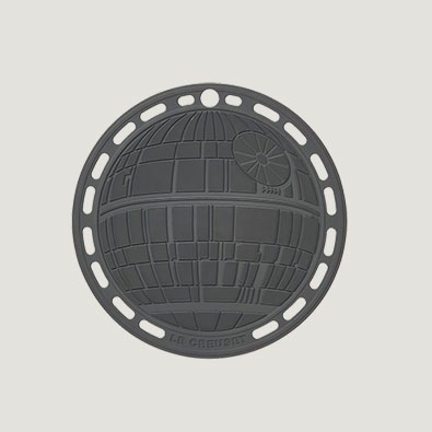 Star Wars Le Creuset Death Star Trivet