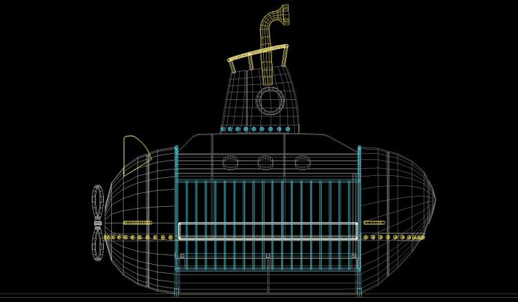 Submarine Crib Design
