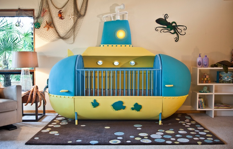 Submarine Crib Front