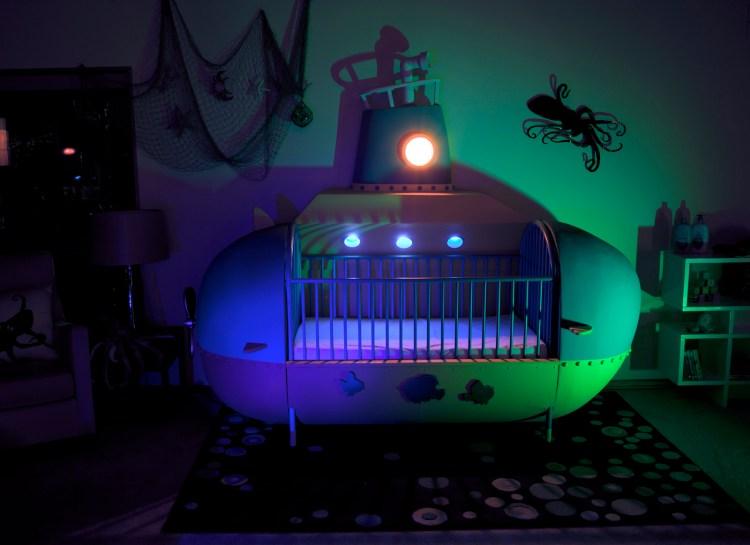 Submarine Crib Night