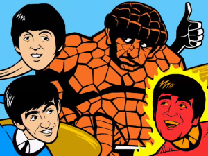 The Beatles ARE The Fantastic Four