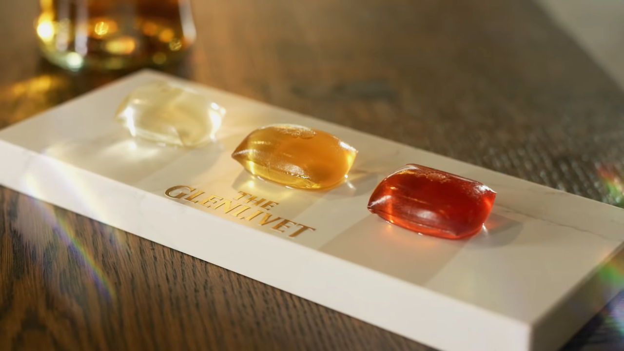 The Glenlivet Capsule Collection, Fully Mixed Whisky Cocktails Contained in Handy, Edible Seaweed Pods