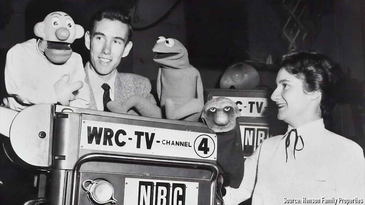 An 18 Year Old Jim Henson Creating His Very First Muppet Show 'Sam and Friends'