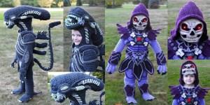 Xenomorph and Skeletor Halloween Costumes