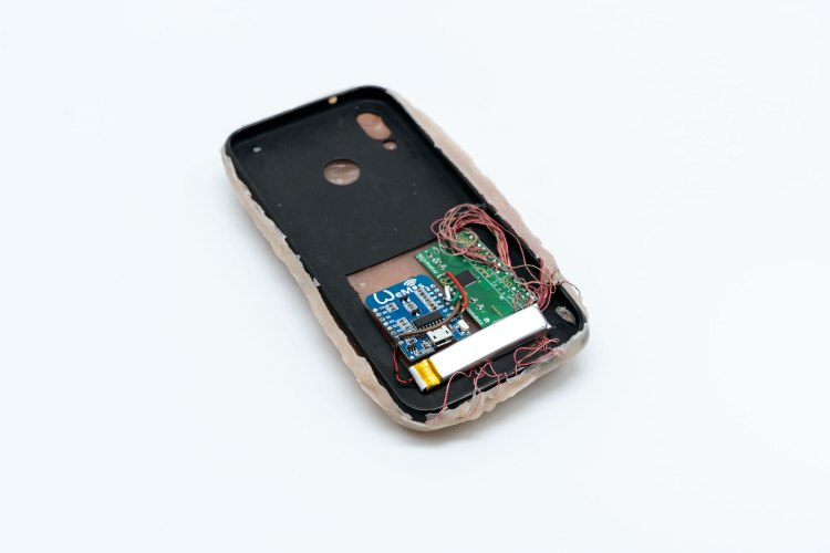 Skin On Mobile Device Cover