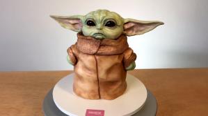 Baby Yoda Cake Sideserf