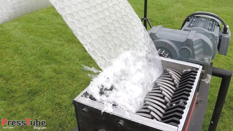Bubble Wrap Shredder
