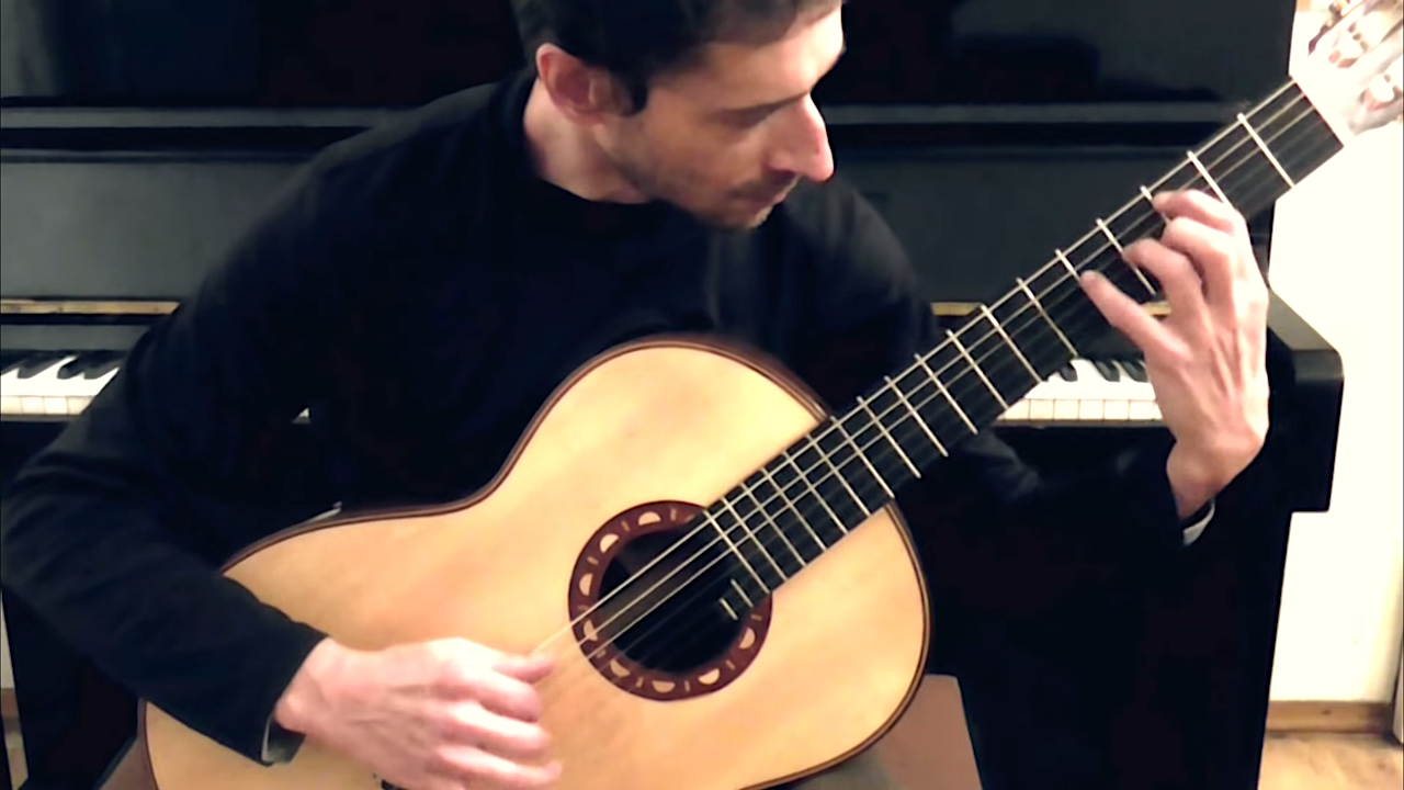A Beautiful Classical Guitar Cover of the Iconic Jaco Pastorius Bass Composition 'Portrait of Tracy'