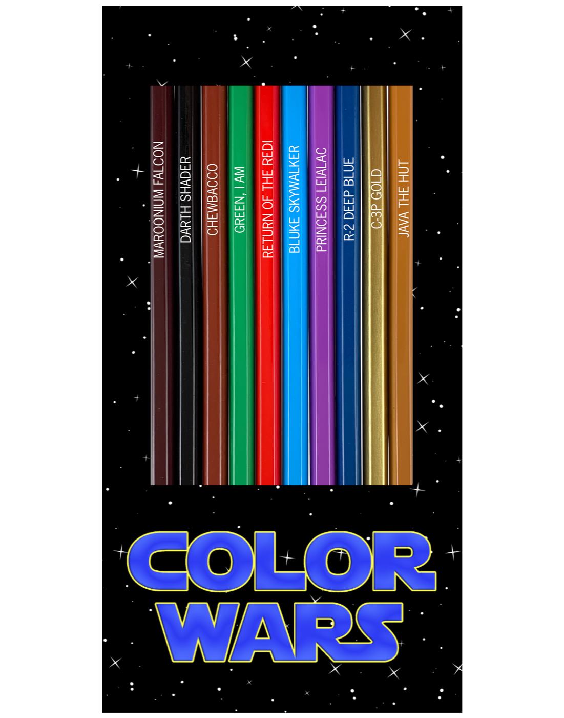 Color Wars Pencils Box