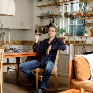 David Harbour Renovated Loft Architectural Digest