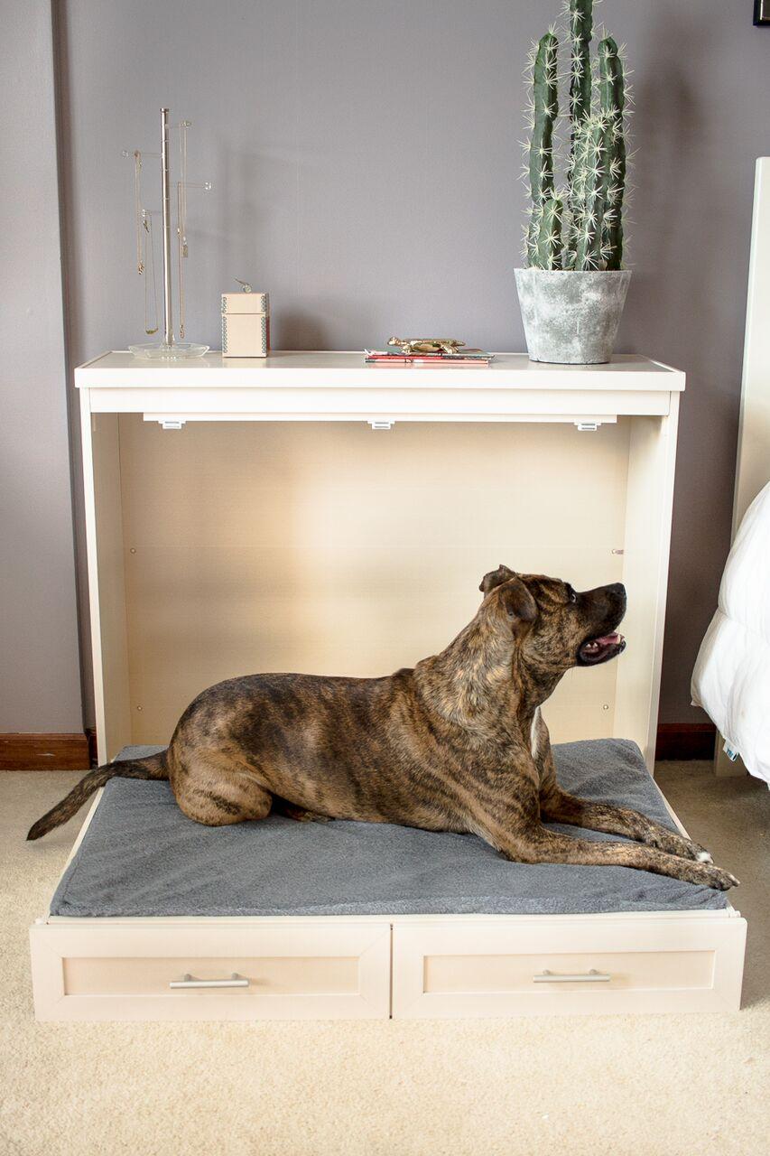 Dog Murphy Bed Brindle