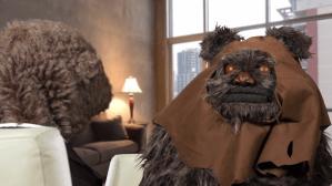 Fafa Interviews Indignant Ewok Glove and Boots