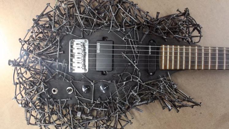 Guitar Made of Nails