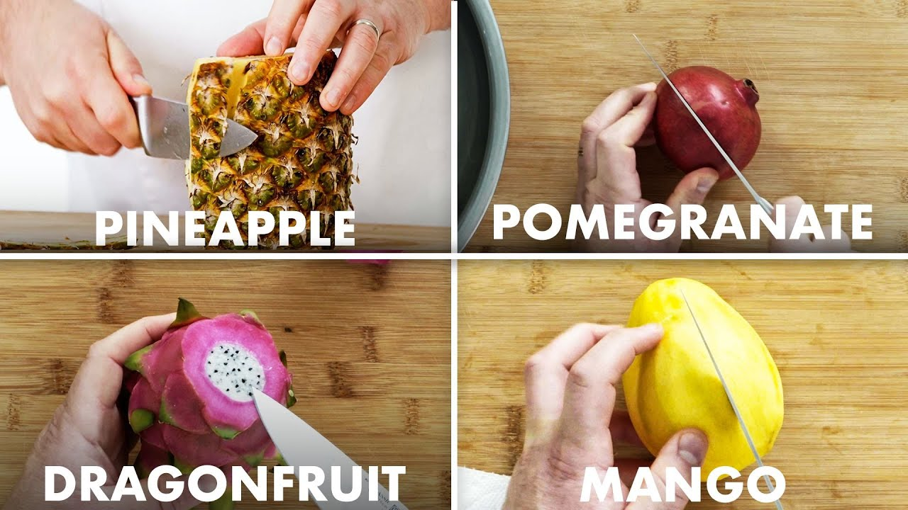 How to Slice a Wide Variety of Fruits Like a Professional