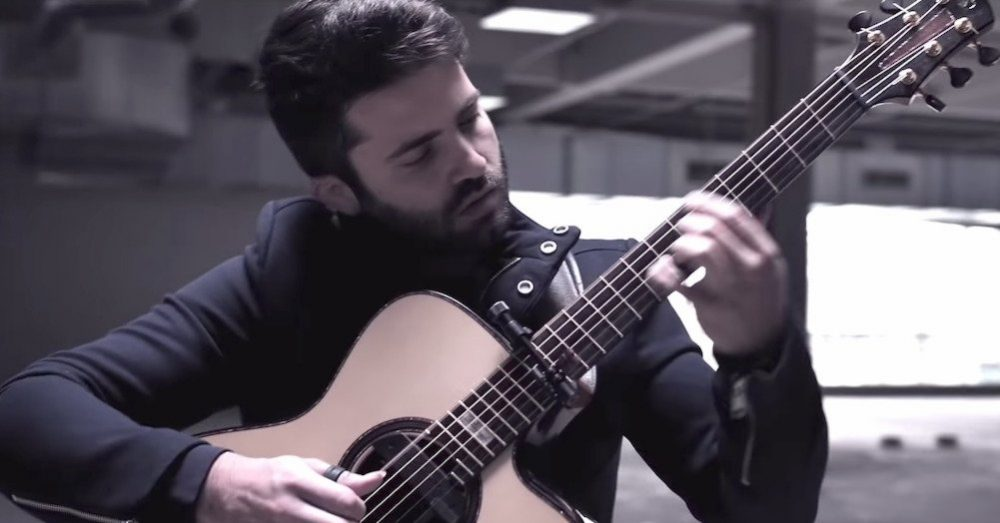 A Stunning Acoustic Cover of Coolio's 'Gangsta's Paradise' on a Creatively Capo'd Guitar