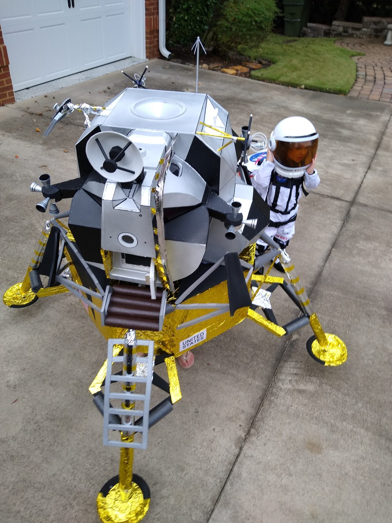 Lunar Module Costume
