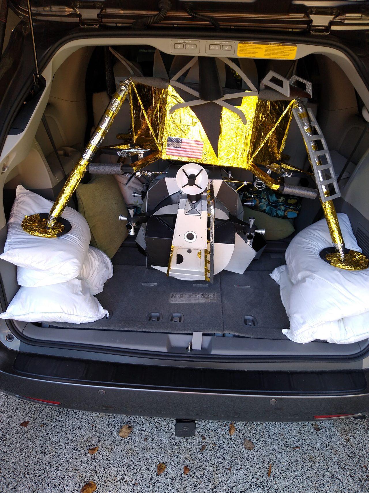 Lunar Module in Car