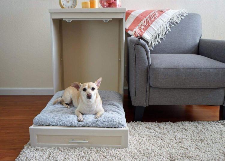 Murphy Dog Bed Open