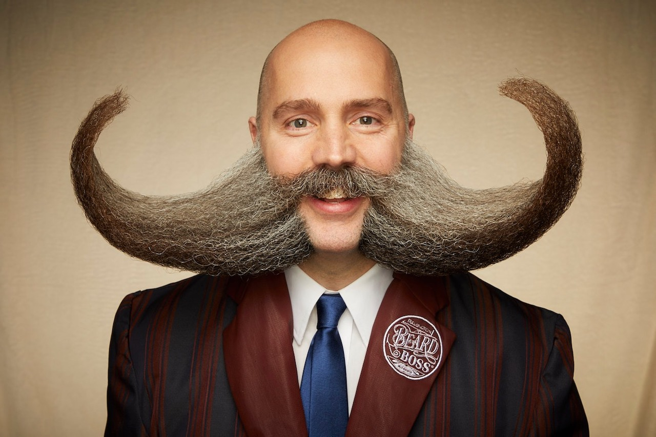 The Spectacular Facial Hair From the 2019 Beard and Moustache Championships in Tinley Park, Illinois
