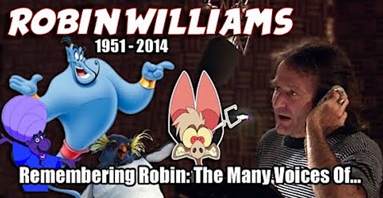 Robin Williams Vocal Talent