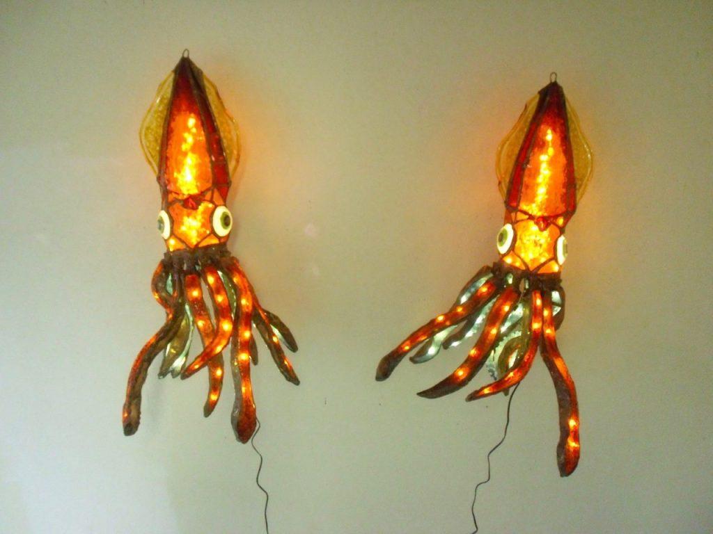 Squid Lamps