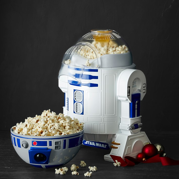 Star Wars R2D2 Popcorn Maker Black Bowl
