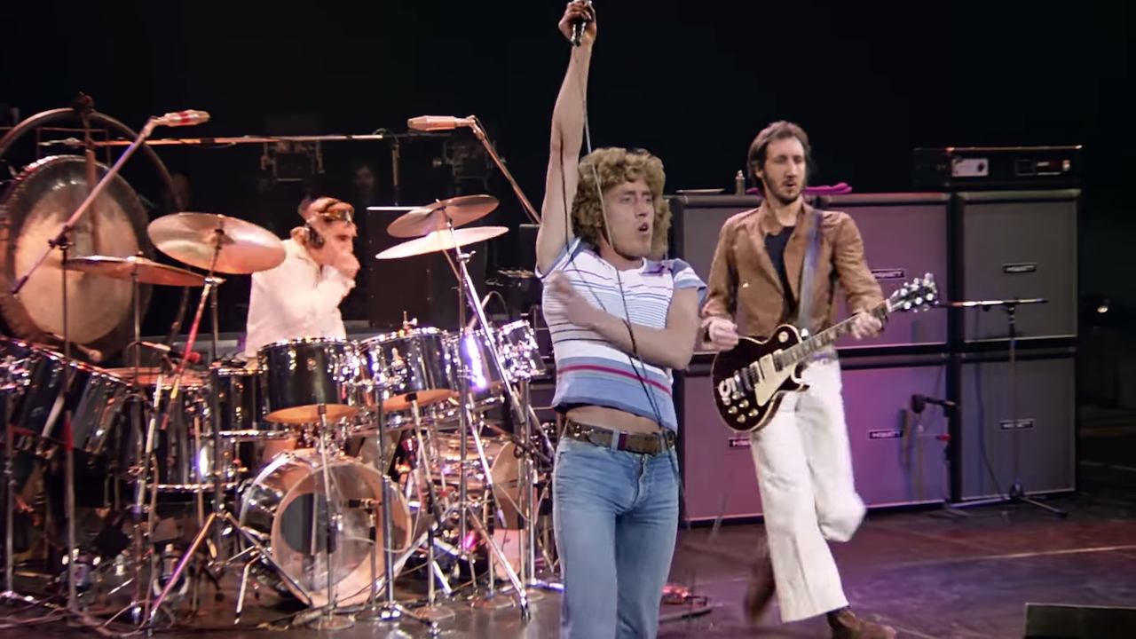 Remastered Footage of The Who Performing 'Baba O'Riley' and 'Won't Get Fooled Again' in May 1978