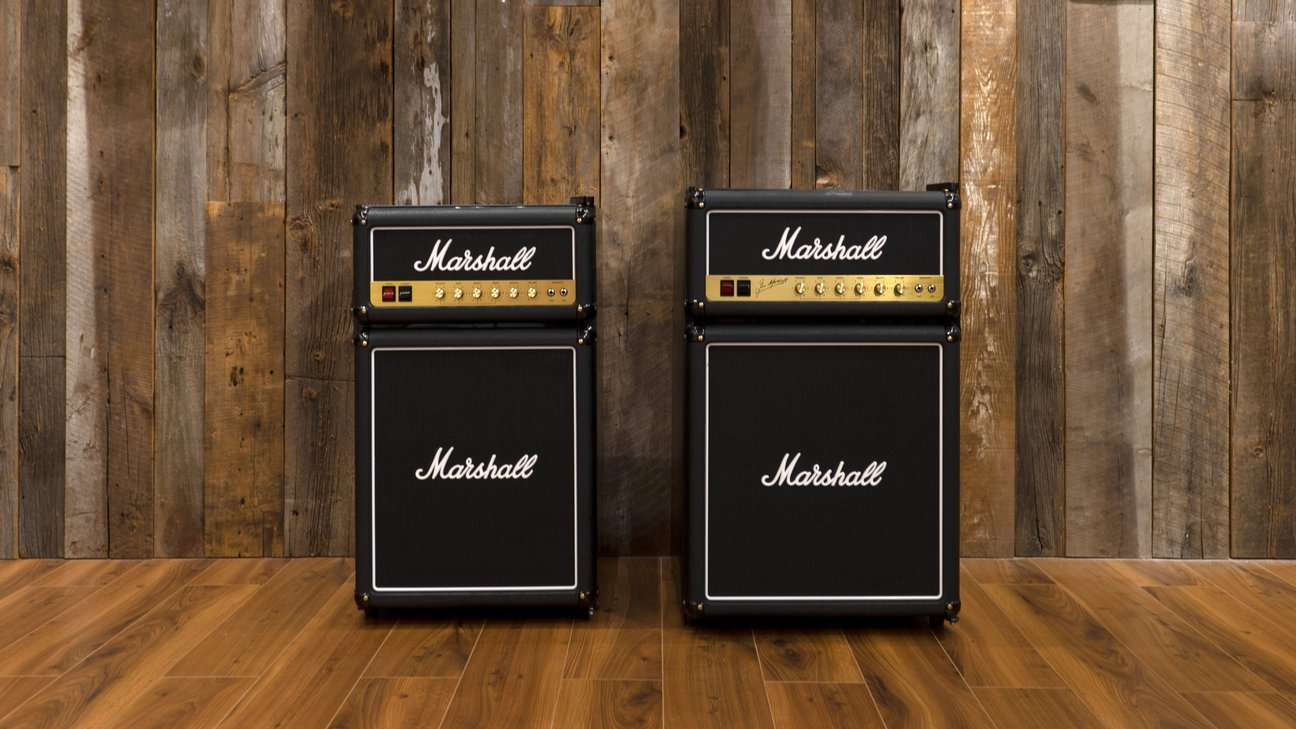 Two Size Marshall Stack Fridge