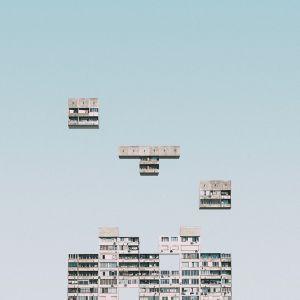 Urban Tetris Sofia Bulgaria