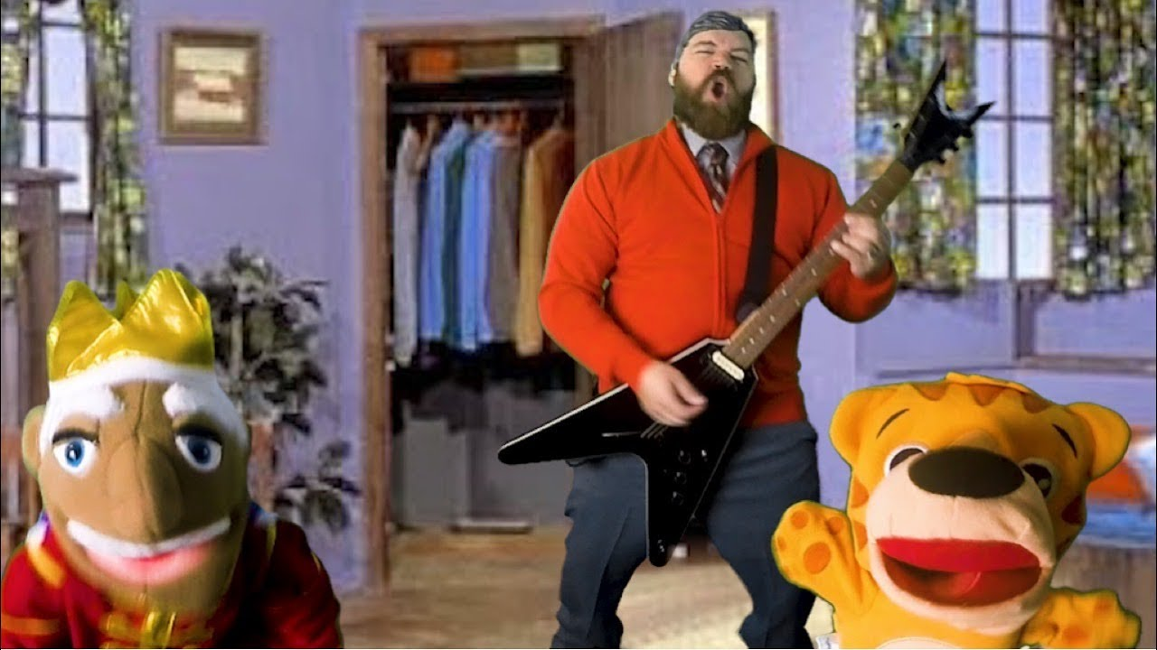 Mister Rogers Fan Performs a Death Metal Cover of the Iconic Theme Song 'Won't You Be My Neighbor'