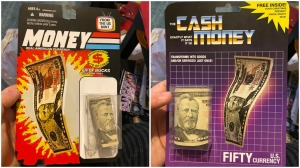 Cash Gift Toy Packages