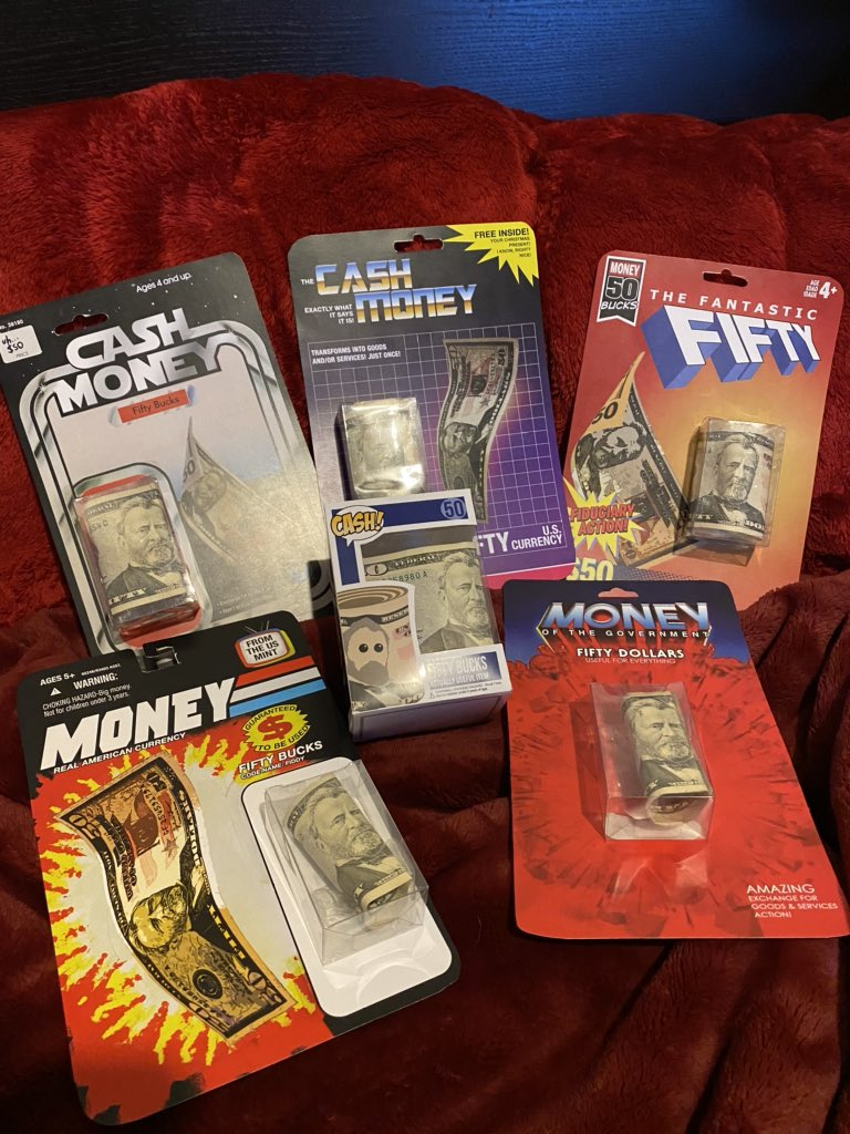 Cash Money Boxes Xmas