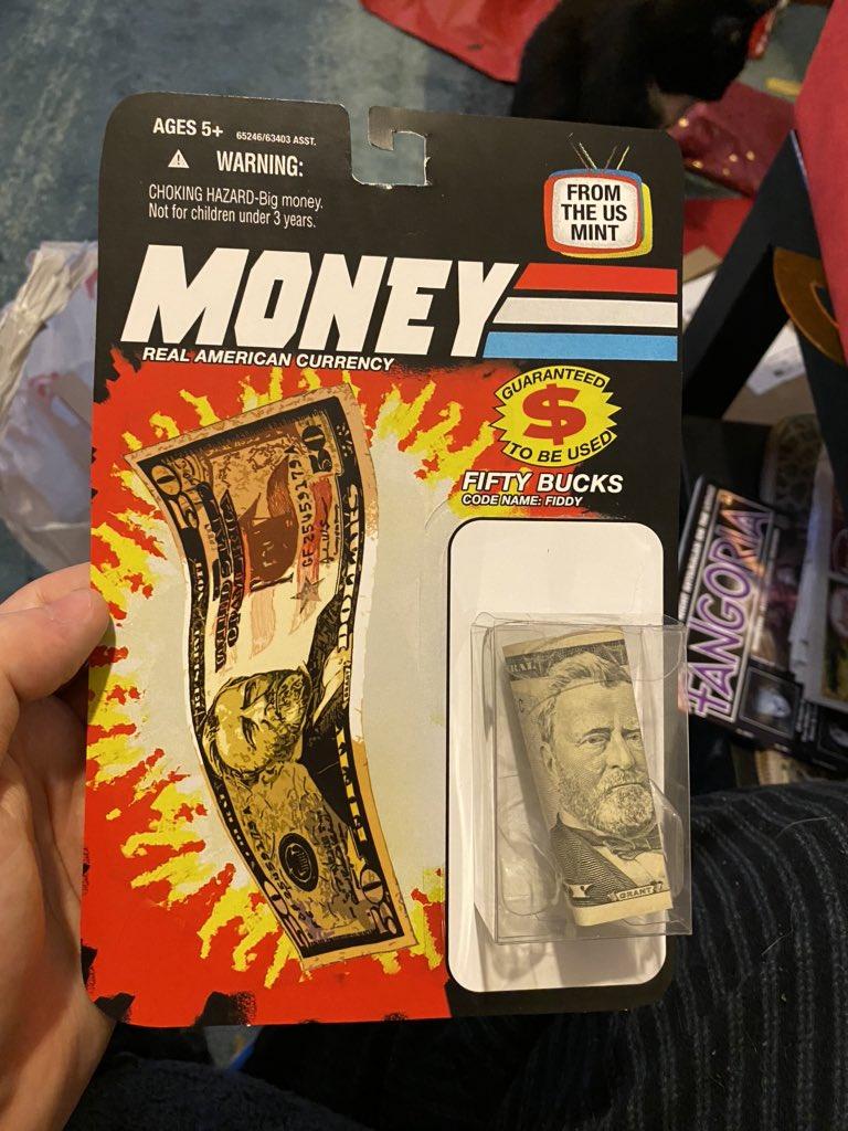 Cash Money GI Joe Xmas