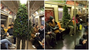 Christmas Tree Rides Subway