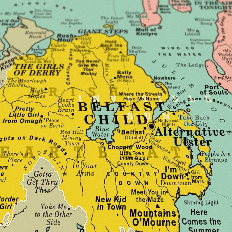 Dorothy UK Map Belfast Child