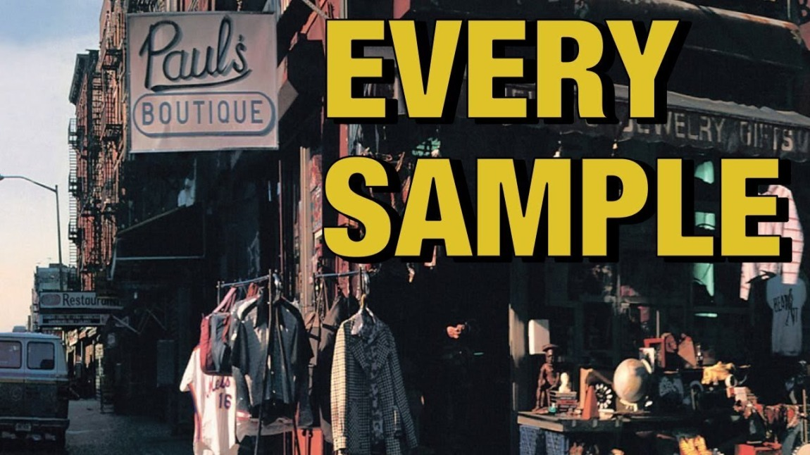 Every Sample on Pauls Boutique Beastie Boys