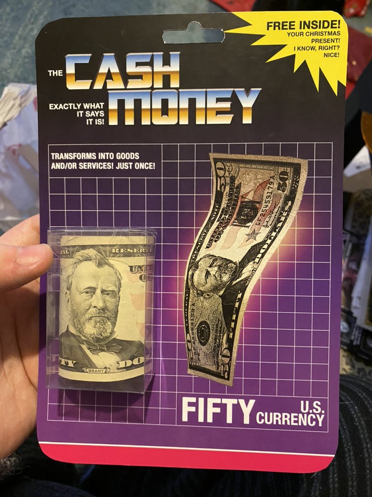 Fifty Cash Money Xmas Gift