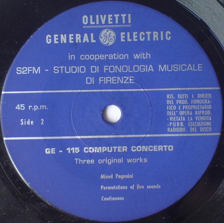 G115 Computer Concerto 1967