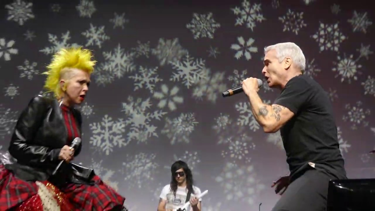 Henry Rollins and Cyndi Lauper Perform a Timely Duet of the Black Flag Protest Song 'Rise Above'