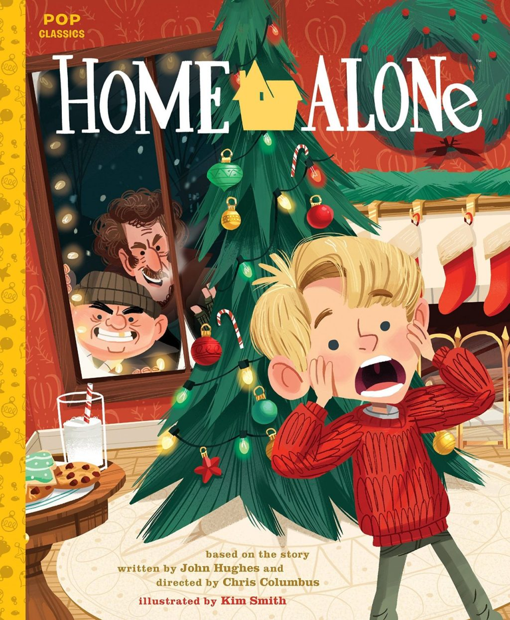 Home Alone Classic Illustrated Storybook Cover