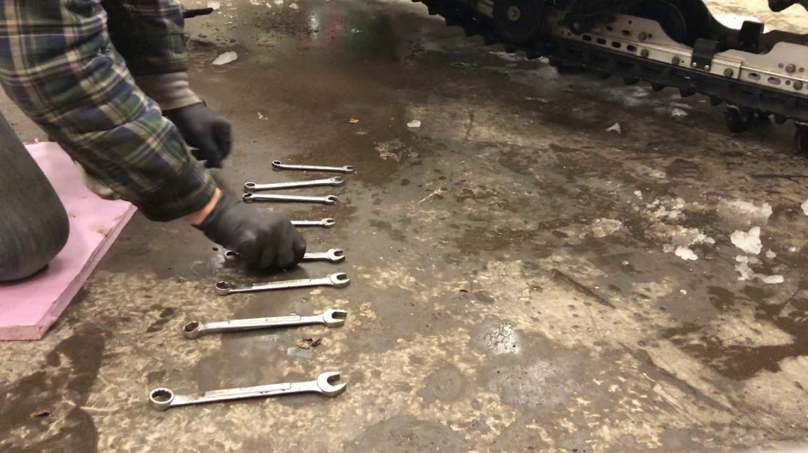 Jingle Bells on Wrenches