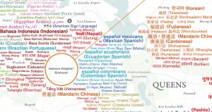 Languages Spoken in NYC Queens