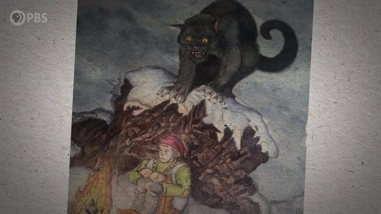 Legend of Yule Cat