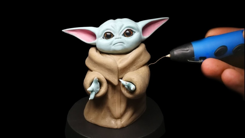 Making Baby Yoda With 3D Pen