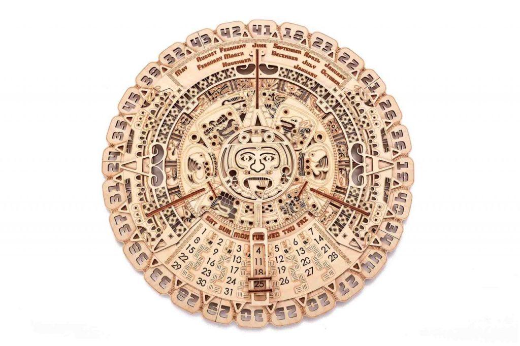 Mayan Calendar Wood Trick