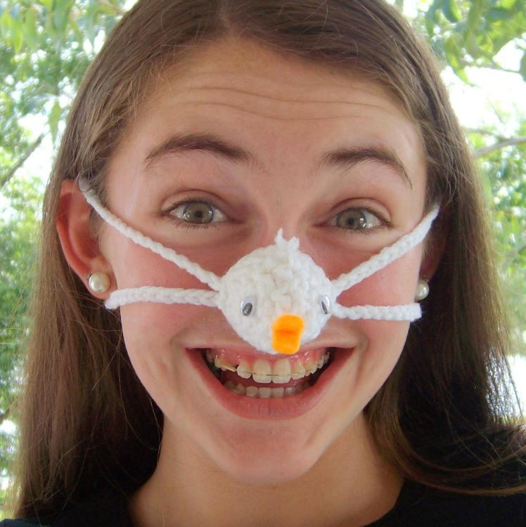 Nose Warmer Baby Duck