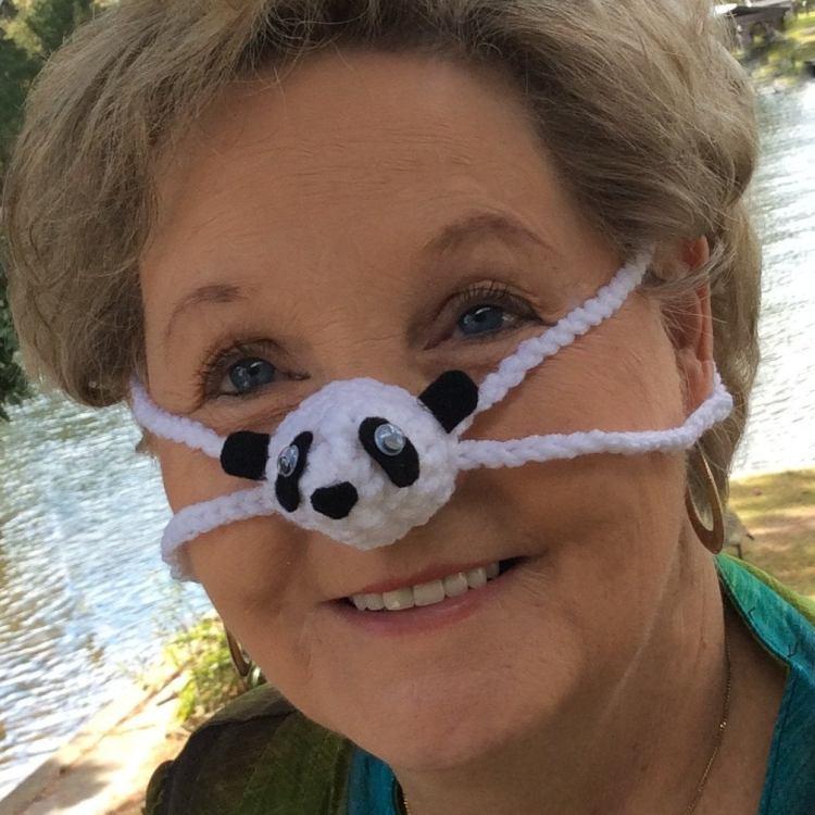 Nose Warmer Panda