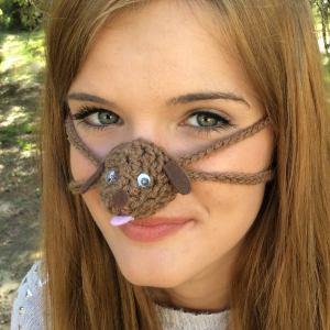 Nose Warmer Licker Dog